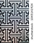 labyrinth pattern photo concept....   Shutterstock . vector #1045141924