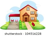 Illustration Of A Standard House