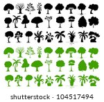 illustration of tree... | Shutterstock .eps vector #104517494