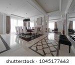apartment interior design | Shutterstock . vector #1045177663