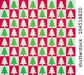 vector seamless pattern of... | Shutterstock .eps vector #104518820