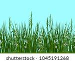 seamless horizontal background  ...   Shutterstock . vector #1045191268