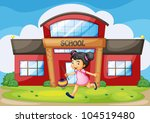 illustration of a chinese girl... | Shutterstock . vector #104519480
