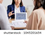 highly professional estate... | Shutterstock . vector #1045201654