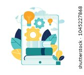 vector illustration people...   Shutterstock .eps vector #1045227868