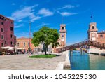 venice  italy   april 21  2016  ... | Shutterstock . vector #1045229530