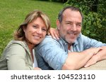 portrait of senior couple... | Shutterstock . vector #104523110