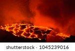 erta ale volcano danakil... | Shutterstock . vector #1045239016