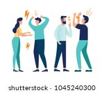 vector illustration design... | Shutterstock .eps vector #1045240300