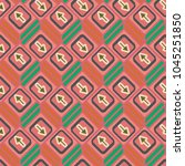 seamless abstract pattern with... | Shutterstock .eps vector #1045251850