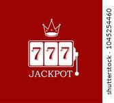 king slots 777 banner casino on ...   Shutterstock .eps vector #1045254460