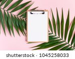 stylish minimal composition... | Shutterstock . vector #1045258033