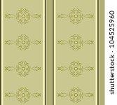 decorative wallpaper | Shutterstock .eps vector #104525960