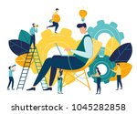 vector creative illustration of ... | Shutterstock .eps vector #1045282858