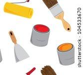 vector construction background  ... | Shutterstock .eps vector #104533670