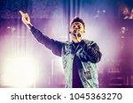 benicassim  spain   jul 13  the ... | Shutterstock . vector #1045363270
