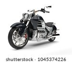 super silver modern powerful... | Shutterstock . vector #1045374226