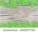 st. patrick's day background...   Shutterstock . vector #1045377733