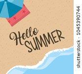seasonal weather summer | Shutterstock .eps vector #1045390744