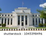 federal reserve building in... | Shutterstock . vector #1045398496