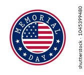 memorial day banner | Shutterstock .eps vector #1045399480