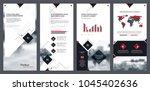 elements of infographics for...   Shutterstock .eps vector #1045402636