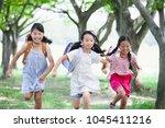 japanese elementary school... | Shutterstock . vector #1045411216