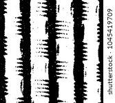black and white grunge stripe...   Shutterstock . vector #1045419709