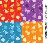 seamless pattern of celebration | Shutterstock .eps vector #104543339