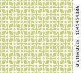 vector abstract green seamless... | Shutterstock .eps vector #1045454386