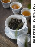 china all kinds of tea | Shutterstock . vector #1045478506