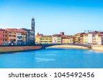 Lungarno  Pisa   Middle Bridge...