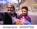 india  26 nov 2017  leh ladakh  ... | Shutterstock . vector #1045497526