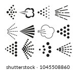 spray icons set | Shutterstock .eps vector #1045508860