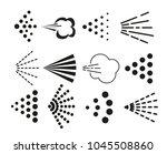spray icons set | Shutterstock .eps vector #1045508860