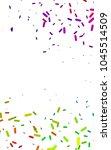 dark multicolor  rainbow...   Shutterstock . vector #1045514509