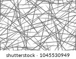 black and white geometric... | Shutterstock .eps vector #1045530949