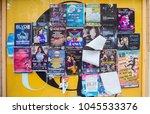 palma de majorca  spain  ...   Shutterstock . vector #1045533376