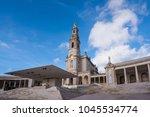 fatima is located in the centro ... | Shutterstock . vector #1045534774