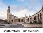 fatima is located in the centro ... | Shutterstock . vector #1045534828