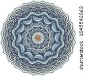 marine life vector hand drawn... | Shutterstock .eps vector #1045543063