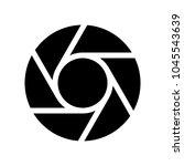 lens or shutter | Shutterstock .eps vector #1045543639