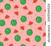 seamless pattern of ripe... | Shutterstock .eps vector #1045544524