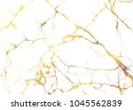 marble with golden texture... | Shutterstock .eps vector #1045562839