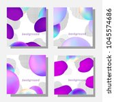 modern violet backgrounds | Shutterstock .eps vector #1045574686