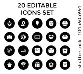 surprise icons. set of 20...   Shutterstock .eps vector #1045605964