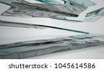abstract white and colored... | Shutterstock . vector #1045614586