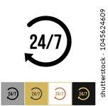 always open icon  steady... | Shutterstock .eps vector #1045624609
