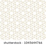 seamless linear pattern with... | Shutterstock .eps vector #1045644766