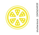 yellow lemons. fresh lemons | Shutterstock .eps vector #1045654939